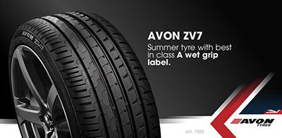 Avon ZV7 Tyre
