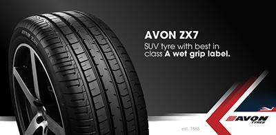 Avon ZX7 Tyre