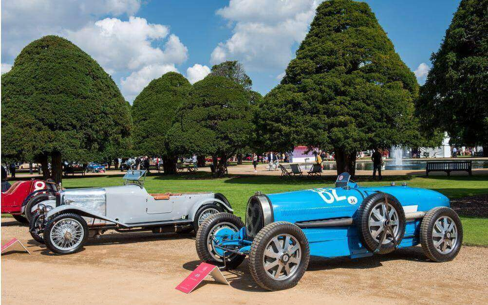 Rare classic cars at Concours of Elegance
