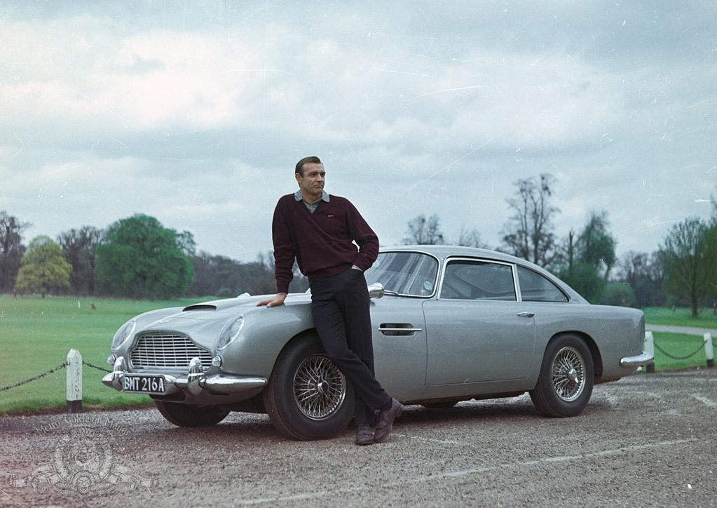 Goldfinger: Aston Martin DB5