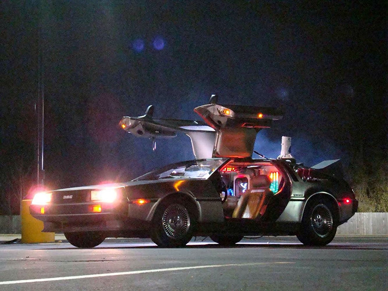 Back to the Future Car: DeLorean DMC-12