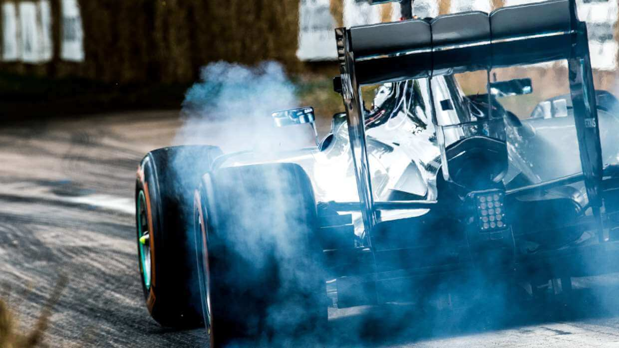 Race car at Goodwood Festival of Speed
