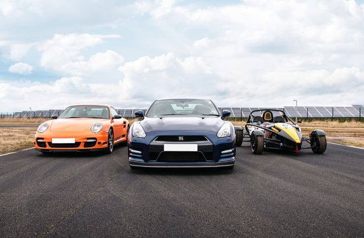 Car Driving Experience for Father's Day